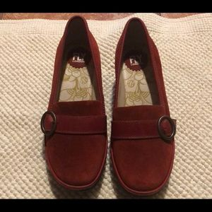 2105cfb2e42 Fly London Shoes - FLY London Suede Wedge Loafers - Yond